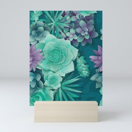 Succulent Love I Mini Art Print