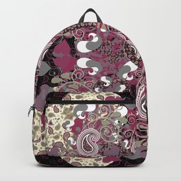 Mature Bush of Pink Love Backpack