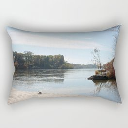 Great Day for Boating Rectangular Pillow