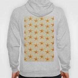 Starfish pattern. Hoody