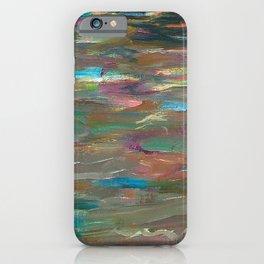 Ocean Currents at Twilight by Hubertine Heijermans iPhone Case