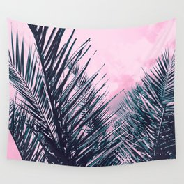 Summer Palms - Cali Vibes #1 #tropical #decor #art #society6 Wall Tapestry