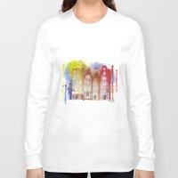 amsterdam Long Sleeve T-shirts featuring Amsterdam by Svitlana M