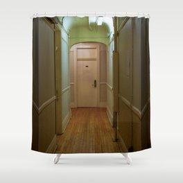 Moody Hallway Shower Curtain