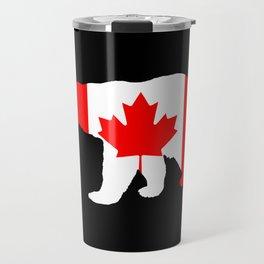 "Polar Bear ""Canada"" Travel Mug"