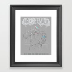 The Chemist  Framed Art Print