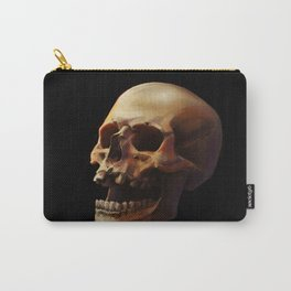 Carpe Diem. Skull Painting Carry-All Pouch
