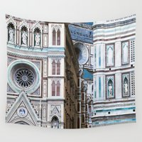 florence Wall Tapestries featuring Florence  by Chernyshova Daryna