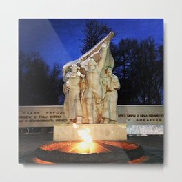 The Monument of Victory.  Metal Print