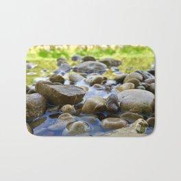 Stuck Between a Rock and a Wet Place Bath Mat