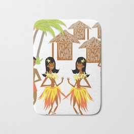 Hawaiian fun pattern-1 Bath Mat