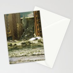 Water vs City Stationery Cards