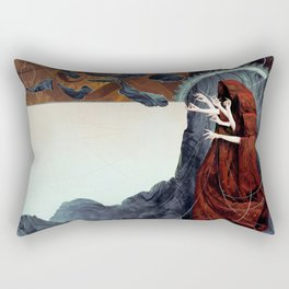 FATED : The Silent Oath - Norns  Rectangular Pillow