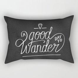 Good Day to Wander Rectangular Pillow