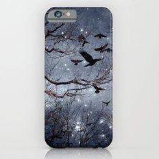 Woodland Crows And Bursting Stars iPhone 6s Slim Case