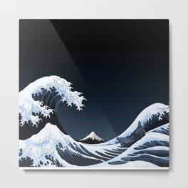 Big waves Metal Print