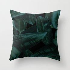 Dark Nature Throw Pillow