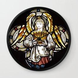 Angel & Holy crown Wall Clock