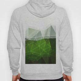 Green abstract background Hoody