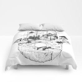 Hamsa in Nature Comforters