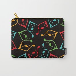 Music Flower Carry-All Pouch