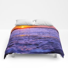 dusk to wave Comforters