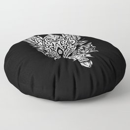 Odin The Allfather - Asgard God And Chief Of Aesir Floor Pillow