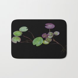 Floating leaves Bath Mat