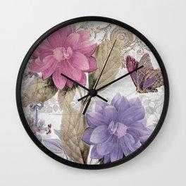 Victorian Romance I Wall Clock
