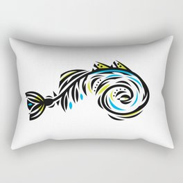 Bone Fishish 4C Rectangular Pillow