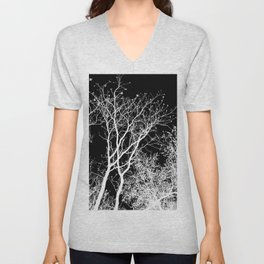 Branching Out In Light And Dark Unisex V-Neck