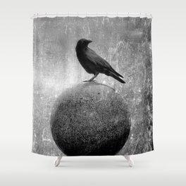 Magic Globe Shower Curtain