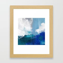 Into the Deep Framed Art Print