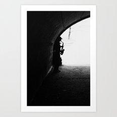 Sax Man Art Print