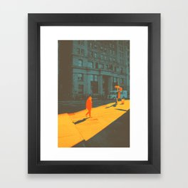 The Space Between Framed Art Print