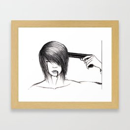 The End of a Life Framed Art Print
