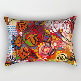 """the infernal"" Rectangular Pillow"