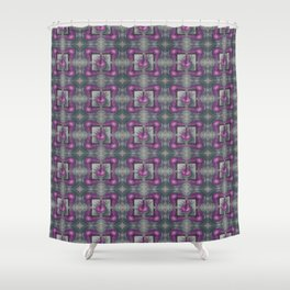dragon lily pattern Shower Curtain
