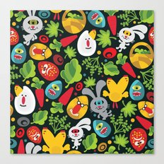 Ugly Easter. Canvas Print