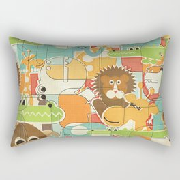 Bungle Jungle Rectangular Pillow