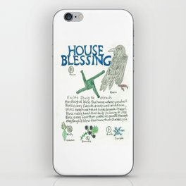 House Blessing iPhone Skin