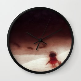 We'll Go Together (landscape) Wall Clock
