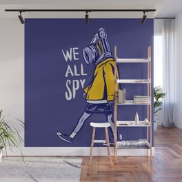 We All Spy Wall Mural