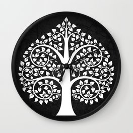 Bodhi Tree0104 Wall Clock
