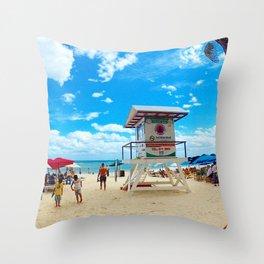 Playa Del Carmen, Mexico. Throw Pillow