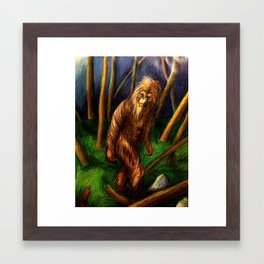 The North American Sasquatch Framed Art Print