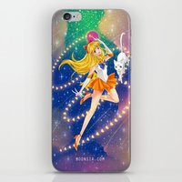 sailor venus iPhone & iPod Skins featuring Sailor Venus  by Moonsia
