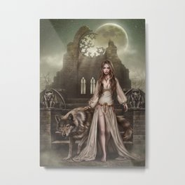 Belong to the night Metal Print