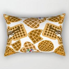 Waffle On Rectangular Pillow