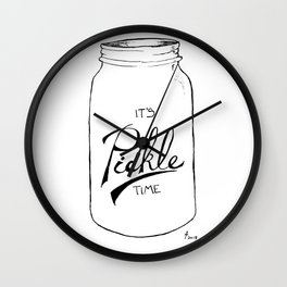 Pickle time Wall Clock